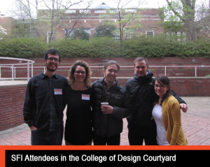 attendees in quad